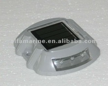 Puck-Style Solar Dock Lights, Surface Mount, White , Yellow, Blue, Amber, GreenLight