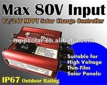 9A 80 V entrada 250 W 12 V 24 V MPPT controlador de carga Solar controlador do painel Solar