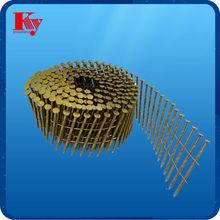 15 degree decorative copper wire nail 2.9mm * 75mm