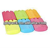 Gel ice box, hard shell ice pack