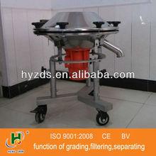 high viscosity liquid vibratory screen with SUS304