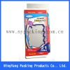 paper & plastic box with special die-cutting window