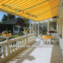 Aluminum Sunshade Retractable Awning