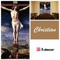 Плакат иисуса на крест, Церковь decoratiive обои