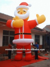 outdoor Christmas product inflatable santa claus