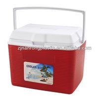 19L plastic cooler box