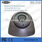 SS-510, 4-9mm VariFocal Lens 40m IR Night Vision Video Surveillance CCD Camera -China Factory