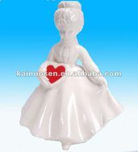OEM Ceramic figurine for valentine's