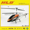 Doble caballo 9053 3.5ch sola hoja de rc helicoptero w/construido en #90131 girocompás