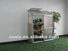 MINI Aluminum frame garden greenhouse
