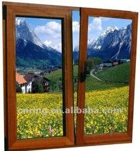 modern opinging in two way aluminium window