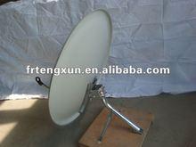 Wall mount steel board satellite dish