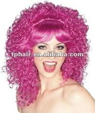 Festival Fun colour kanekalon fibre synthetic hair wig