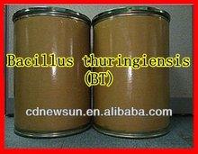 Agriculture pesticide Bacillus thuringiensis BT