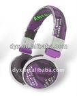 For MP3/4 high quality new style bass headphone cute headphone dust plug