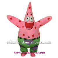 Patrick Star / Character / Mascot / Animal Costume.