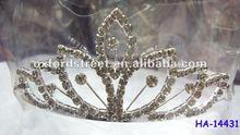 hot metal crowne shaped head band HA-14431