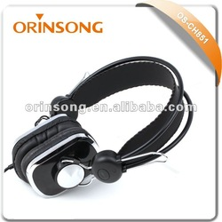 2014 new stereo headphone 40mm driver
