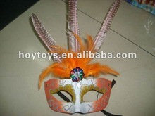 Orange Color Party Mask Masquerade Masks