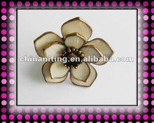 Alloy flower ring elastic adjustable flower ladies rings