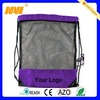 nylon and mesh bags drawstring(NV-6032)