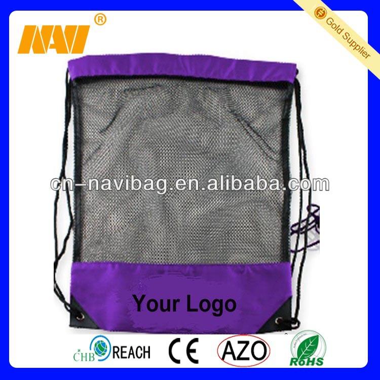 nylon and mesh bags drawstring(NV-6032)