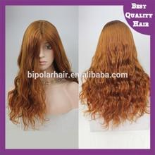 Silky straight 100 kanekalon synthetic wigs