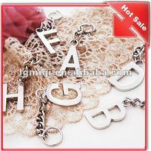 metal letter bag chain