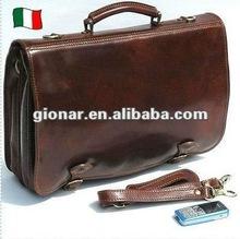 Fashion latest fashion men leather laptop bag