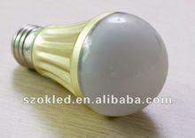 High Power E27 B22 7W LED Light,LED Bulb,LED Lamp,AC85V-265V,600LM-650LM