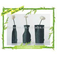 Cheap felt vases decoration