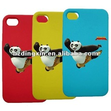 Fashionable printed gel skin phone cover case for iphone 4G 4S 4-G 4-S promotion