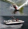Hot sale 5.85m fiberglass speed boat