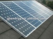 Solar Energy System Mono Photovoltaic Solar Panels 170W