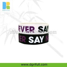 New promotional gifts for 2012 custom silicone wristband