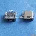 4Pin Hembra mini usb conector, Enchufe micro hembra conector 4 pines