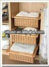 clothes home rattan laundry baskets