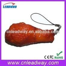 Novetly emulationa chicken leg shaped usb flash disk