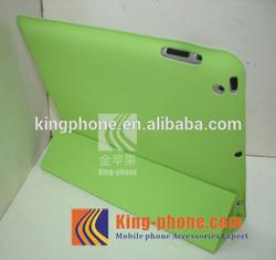 China Wholesale 4 Fold Microfiber PU Leather Case for ipad 2