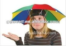 """11""""inches hand open sun and rain hat umbrella"""