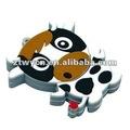 El bajo precio 3 dcustom diseño usb pen drive, flash usb de dibujos animados, otg usb de disco
