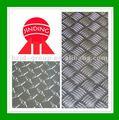 1100 placa de alumínio xadrez/folha