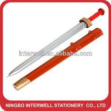 Sword shape ballpoint pen