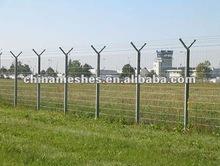 Y type post security fencing