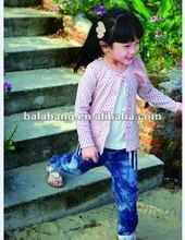Wholesale girls tops of branded kids wear