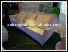 plastic indoor Furniture Roto Molded,rotational sofa
