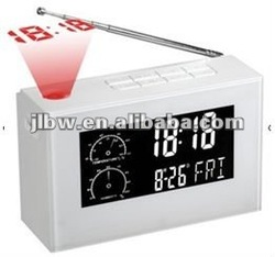Sonic projection clock chime backlighting led backlight alarm clock with adjustable backlight