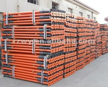Construction adjustable scaffolding props