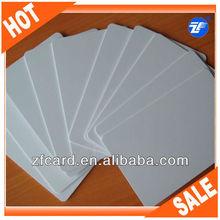 blank pvc id card size cr80