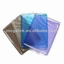 Tablet case cover Rain drop swivel ultra thin flexible tpu case for ipad 2 3 4,for ipad case tpu